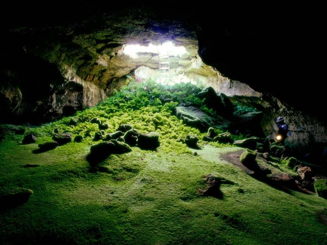 Cave Kaliforniában.
