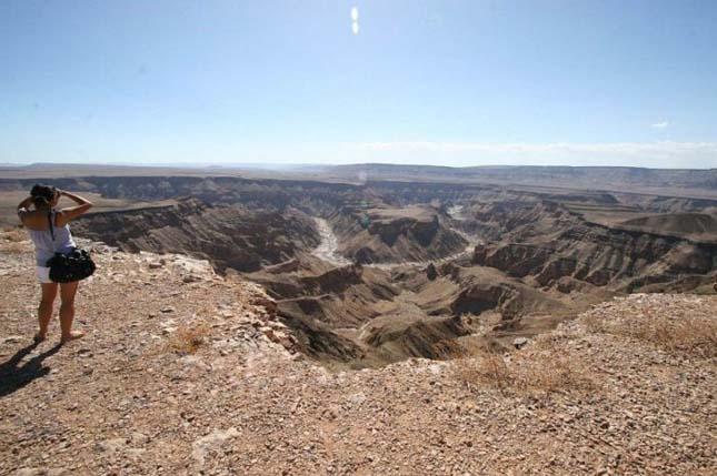 Fish River Canyon (Halak), Dél-Namíbia