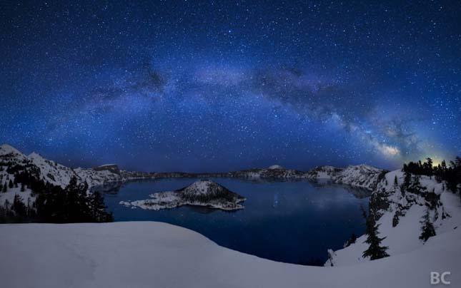 Kráter tó - Oregon, USA