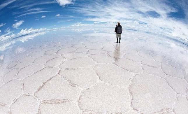 Salar de Uyuni a világ legnagyobb sómezője1