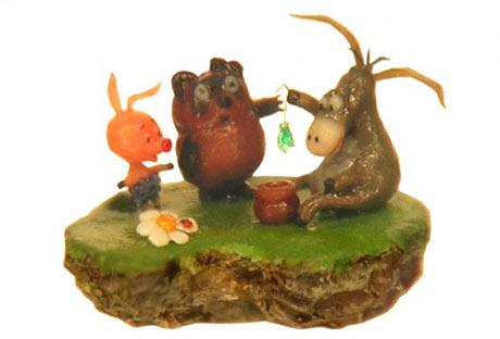 Micimackó és barátai egy mákszemen