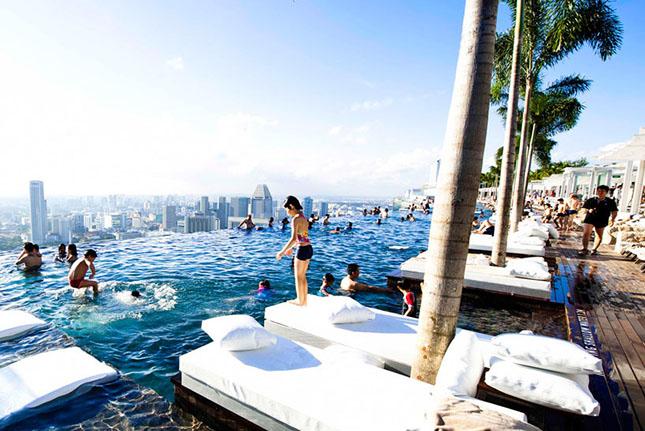 Marina Bay Sands, Szingapúr
