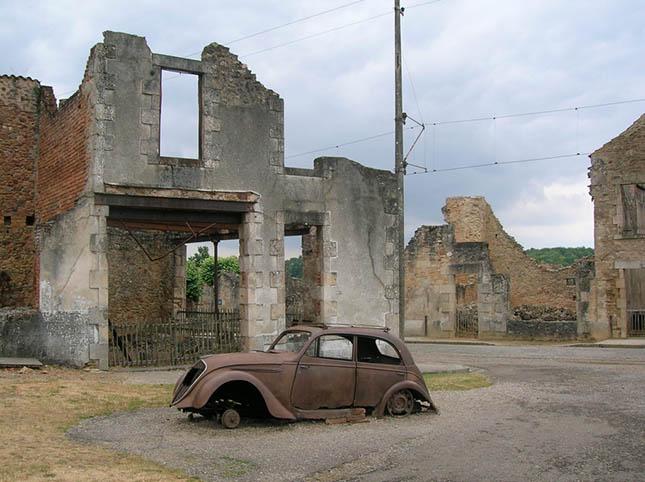 Oradour-sur-Glane - Franciaország