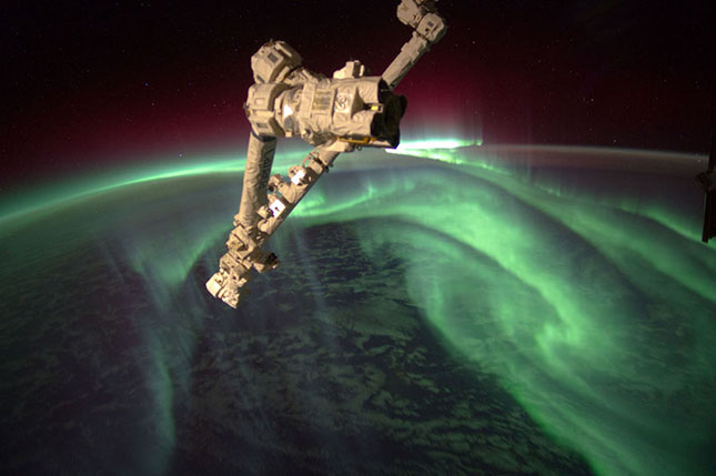aurora-from-space