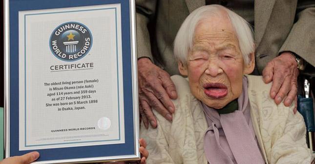 A Világ legöregebb nője - Okava Miszao