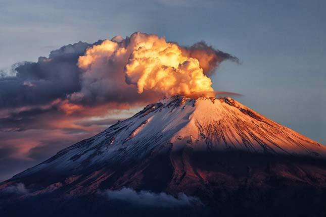 Popocatépetl vulkán