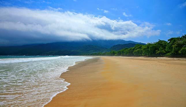 Lopes Mendes Beach, Ilha Grande, Brazília