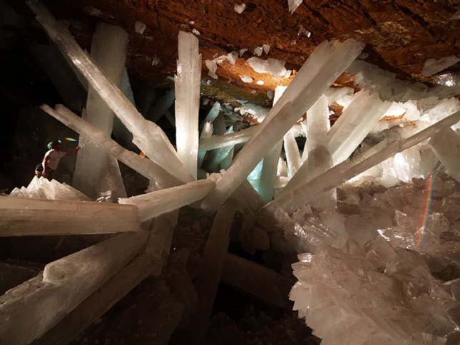 Naica bánya Mexikóban