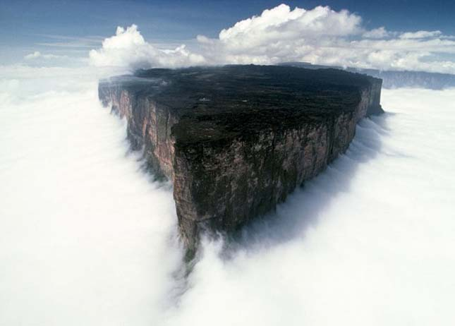 Roraima-Hegy, Dél-Amerika