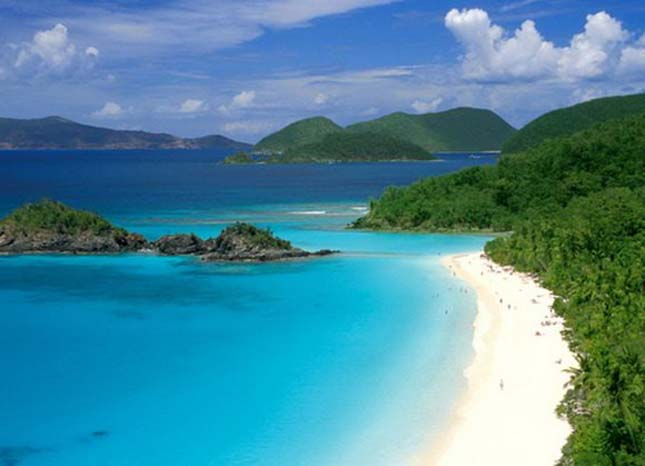 Trunk Bay, Virgin-szigetek