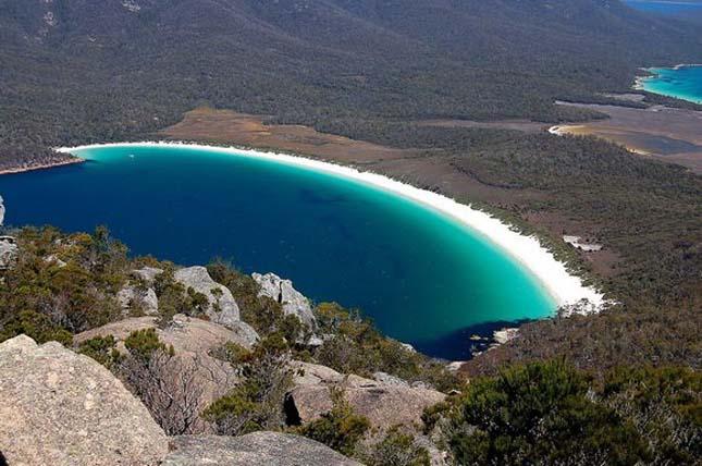 Wineglass Bay, Tasmania, Ausztrália