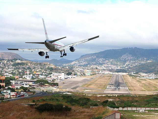 Toncontín Nemzetközi Repülőtér, Honduras