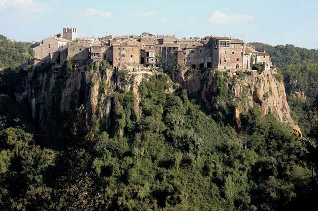 Calcata város, Olaszország