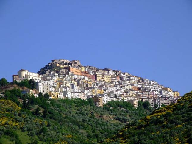 Calitri város, Olaszország
