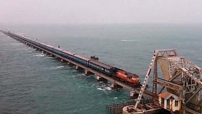 Chennai-Rameswaram Route, India