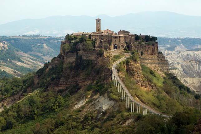 Civita di Bagnoregio város, Olaszország