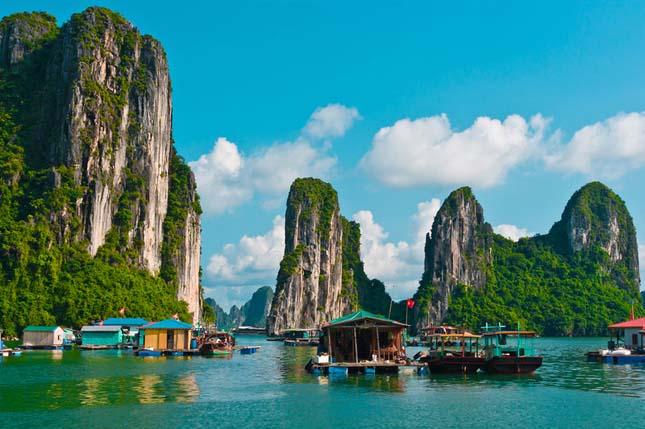 Halong-öböl - Vietnam