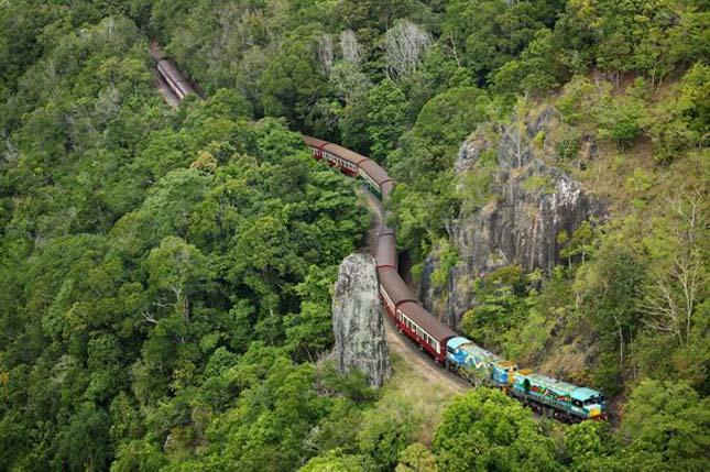 Kuranda Scenic Railway, Ausztrália