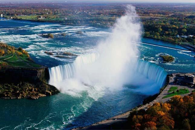 Niagara vízesés, Észak-Amerika