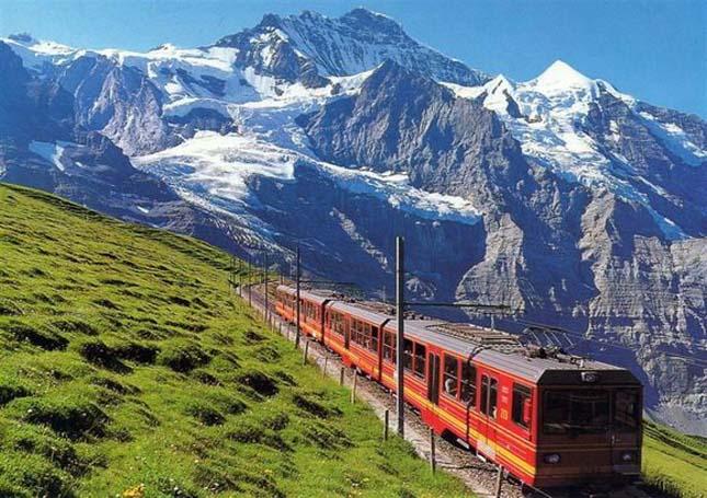Railroad Jungfrau (Jungfrau Railway), Svájc