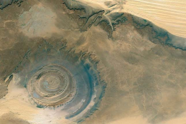 Richat-képződmény, Mauritánia