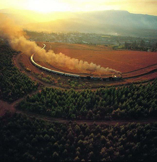 The company Rovos Rail train (Rovos Rail), Dél-Afrika
