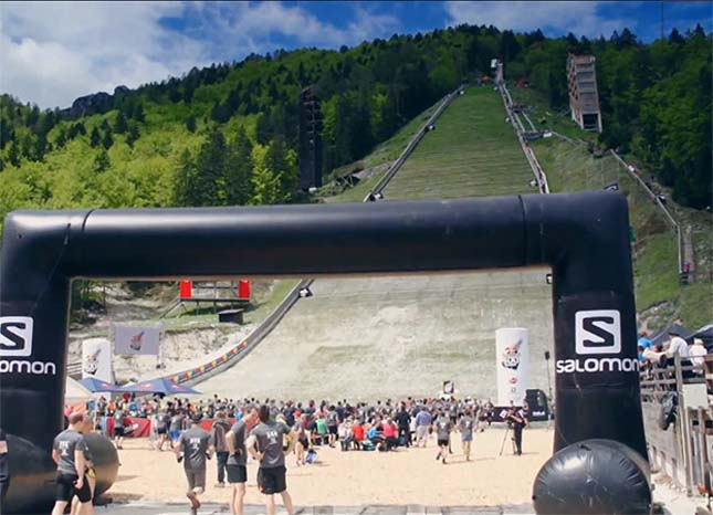 Red Bull 400 - A legmeredekebb futóverseny  -  Planica,  Szlovénia, 2013