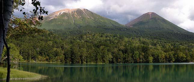 Akan Nemzeti Park, Japán