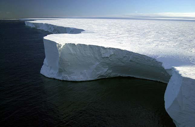 B 15 jéghegy
