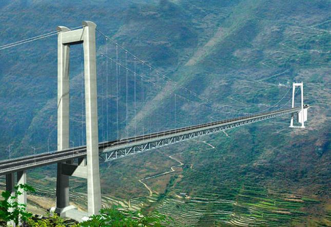Balinghe híd, Kína