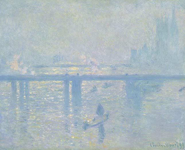 """Charing Cross Bridge"" by Claude Monet"