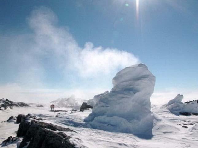 Erebus-hegy Jég tornyai , Antarktisz