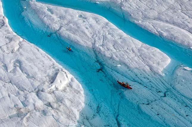 Kék folyó, Greenland