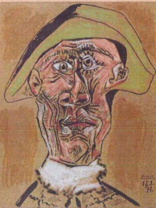 Tête-dArlequin-by-Pablo-Picasso
