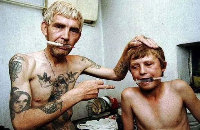 heroinfüggők