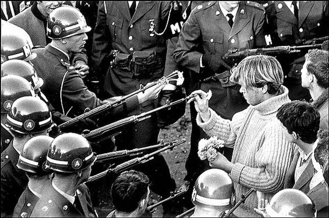 Flower power (Bernie Boston, 1967)