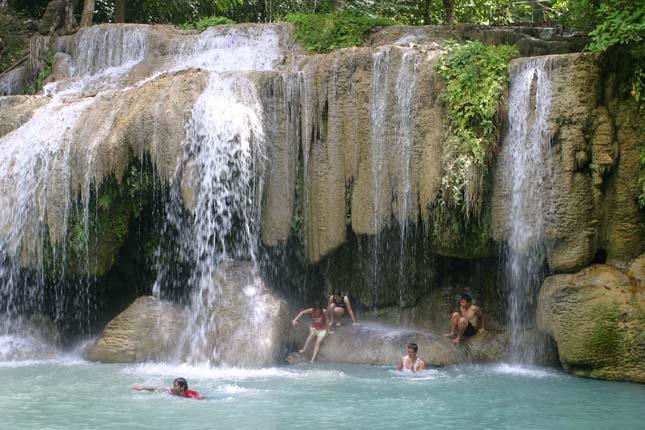 Erawan-vízesés