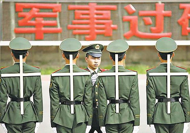 kína katonák