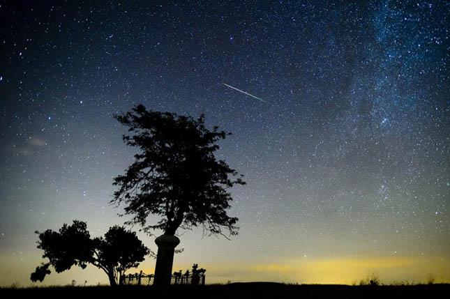 Perseidák meteorraj