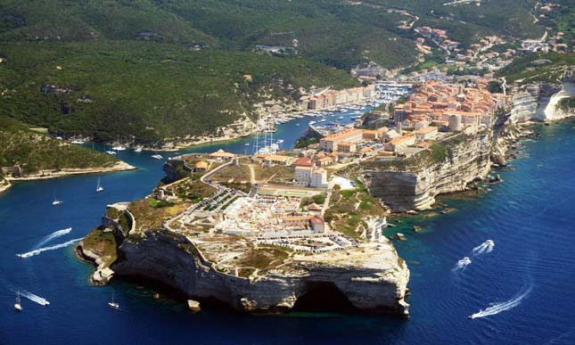 Bonifacio, Korzika, Franciaország2