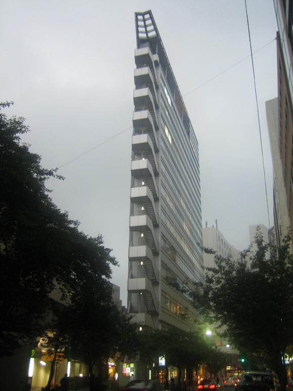 Sliver Building in Tokyo, Japan