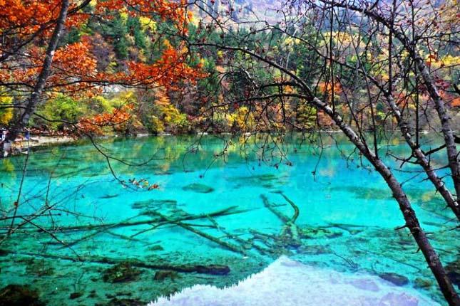 Az Öt Virág-tó Kínában