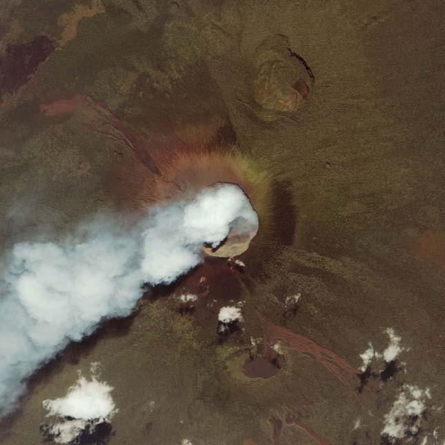 Nyiragongo Vulkán, Kongó