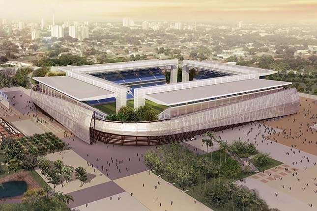 Cuiabá - Novo Verdao Stadion