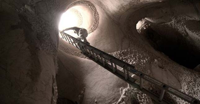 Barlangszobrászat
