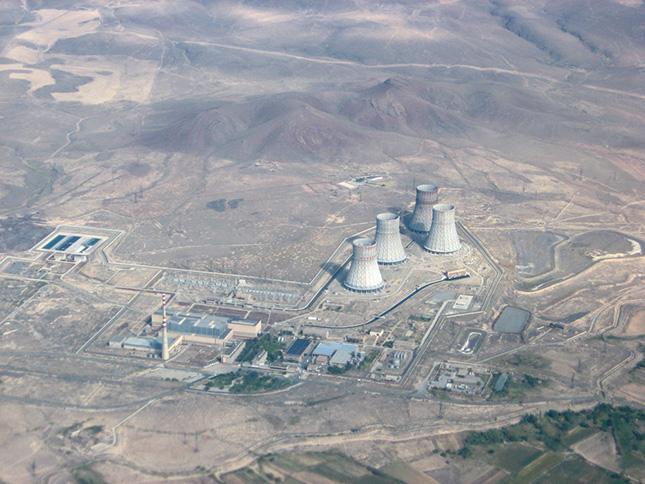 Metsamor_NPP_aerial_view