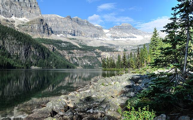 Boom Lake im Kootenay National Park