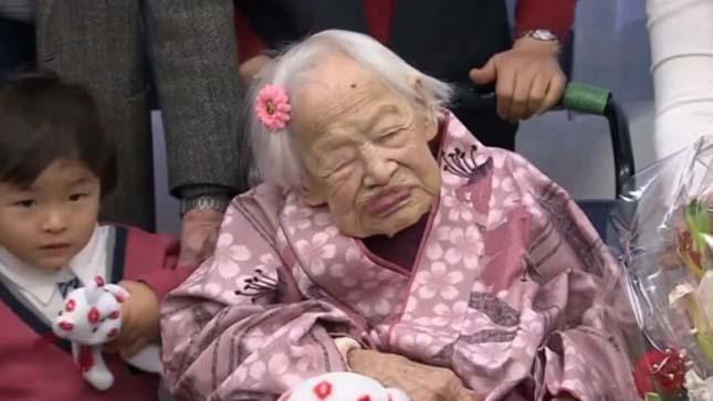 World's oldest living person celebrates 117th birthday