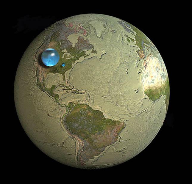 Vészesen fogy az ivóvízkészlet a Földön